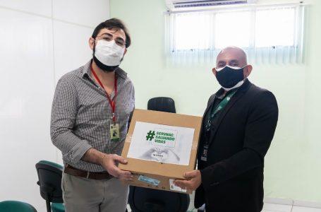 Grupo Servnac realiza doação de capacetes Elmo para auxiliar a recuperação de pacientes internados com Covid-19