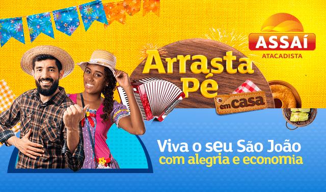 'ARRASTA PÉ EM CASA' DO ASSAÍ TRAZ LIVE DE RAÍ SAIA RODADA NESTA SEXTA-FEIRA (18)