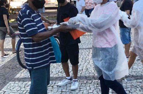 <strong>Unifametro distribui kits de higiene pessoal e alimentos para pessoas em situação de vulnerabilidade em Fortaleza</strong>
