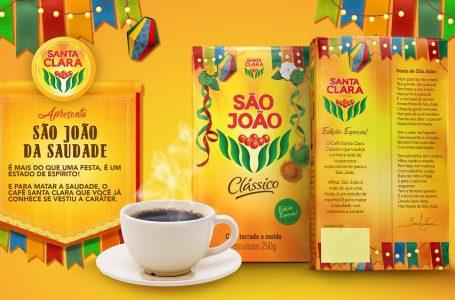 Café Santa Clara homenageia o São João com embalagem especial e ações em supermercados