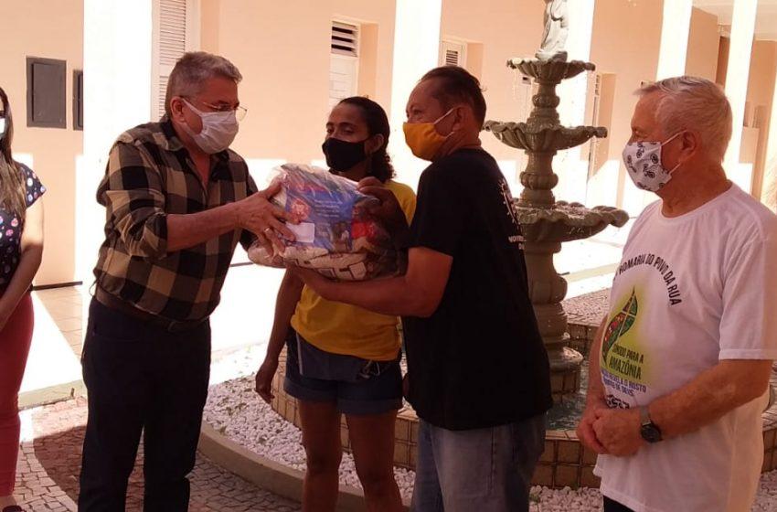 Movimento Super Solidário entrega mais de 2 mil cestas básicas para Centro de Pastorais da Arquidiocese de Fortaleza