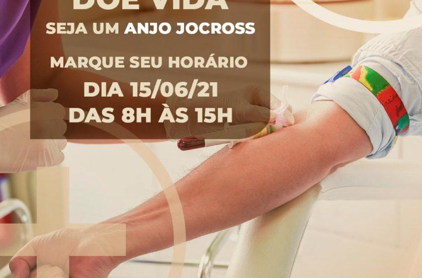 JOCROSS lança campanha de doação de sangue