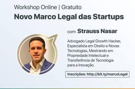 """Corredores Digitais debate """"Novo Marco Legal das Startups"""" em evento online e gratuito"""