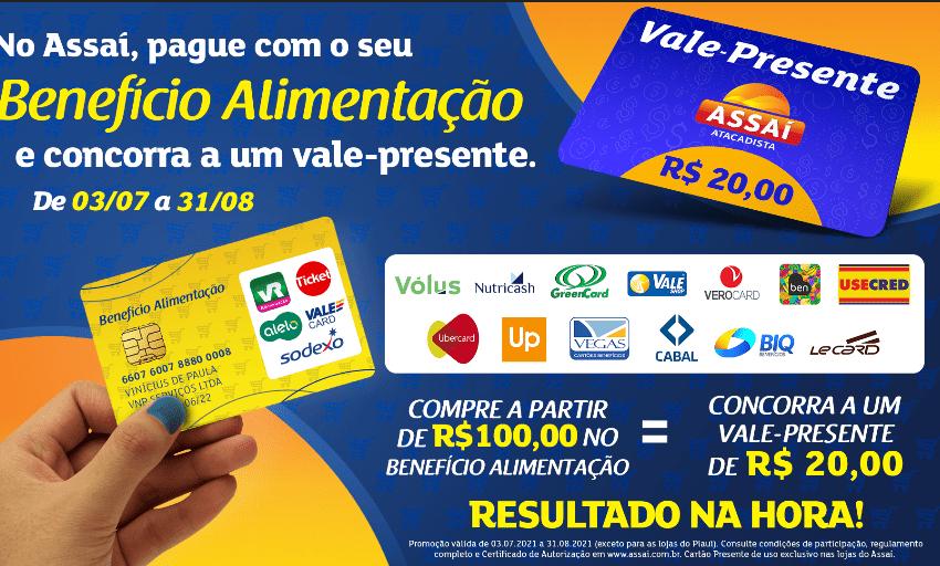 Assaí lança promoção para pagamentos com vale-alimentação em suas lojas