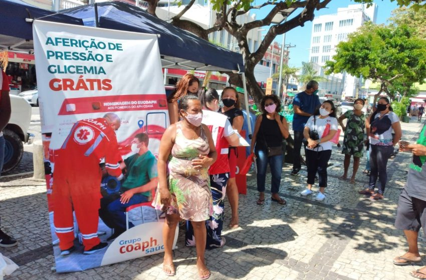 Coaph Saúde oferta serviços de saúde de forma gratuita para a população