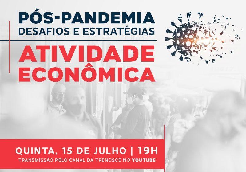 Cenários Trends apresenta sua nova série especial sobre pós-pandemia e recebe presidente da Fecomércio Ceará