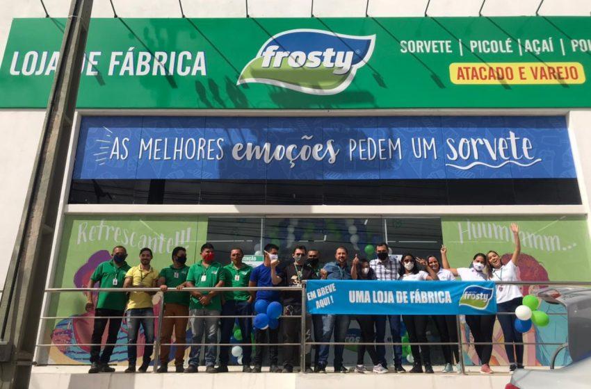 Em expansão, Frosty inaugura primeira loja na região do Cariri