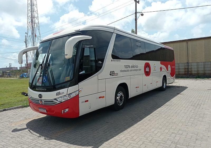 Primeiro ônibus elétrico solar brasileiro completa primeiros 30 mil km rodados no Ceará