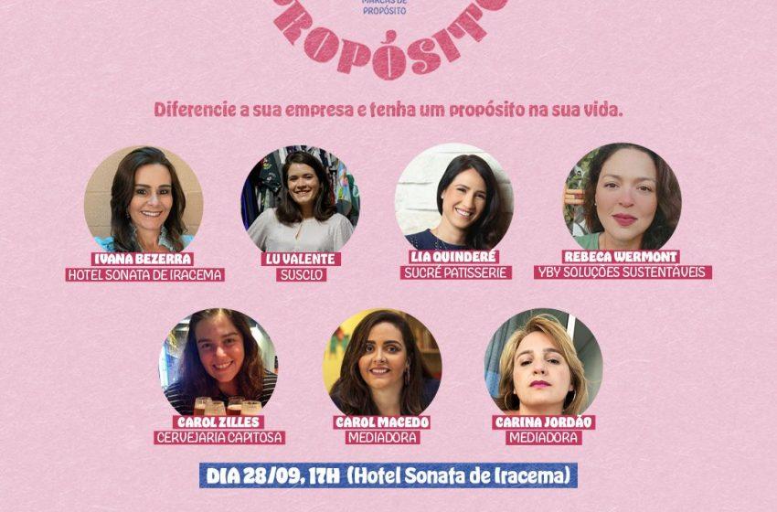 Mulheres empreendedoras se reúnem em evento para discutir propósito e valor de marca