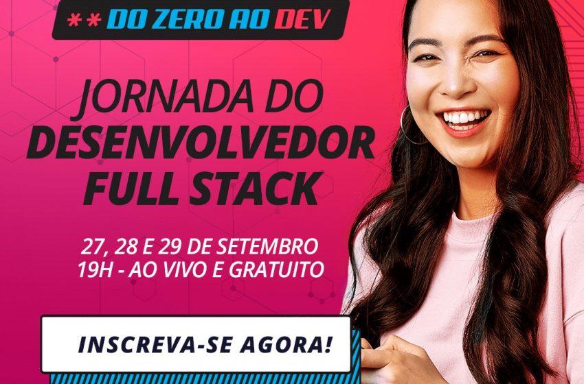 GoKursos e Qualiti promovem a Jornada do Desenvolvedor Full Stack