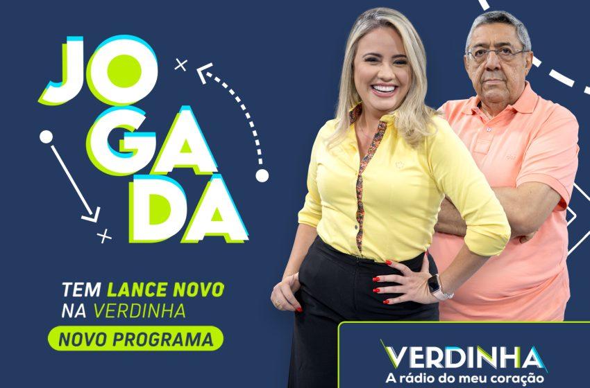 Verdinha estreia novo programa esportivo